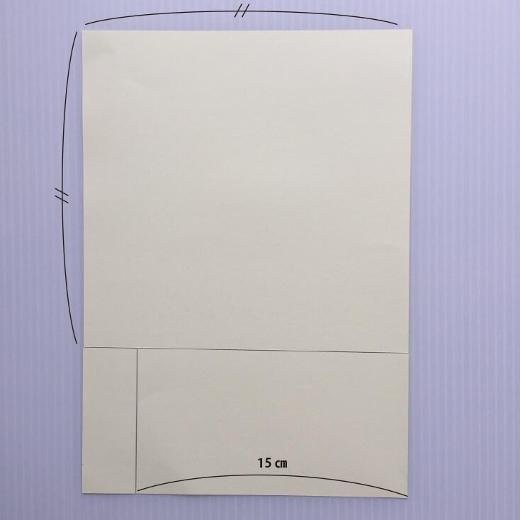 カーネーションの作り方_台紙寸法