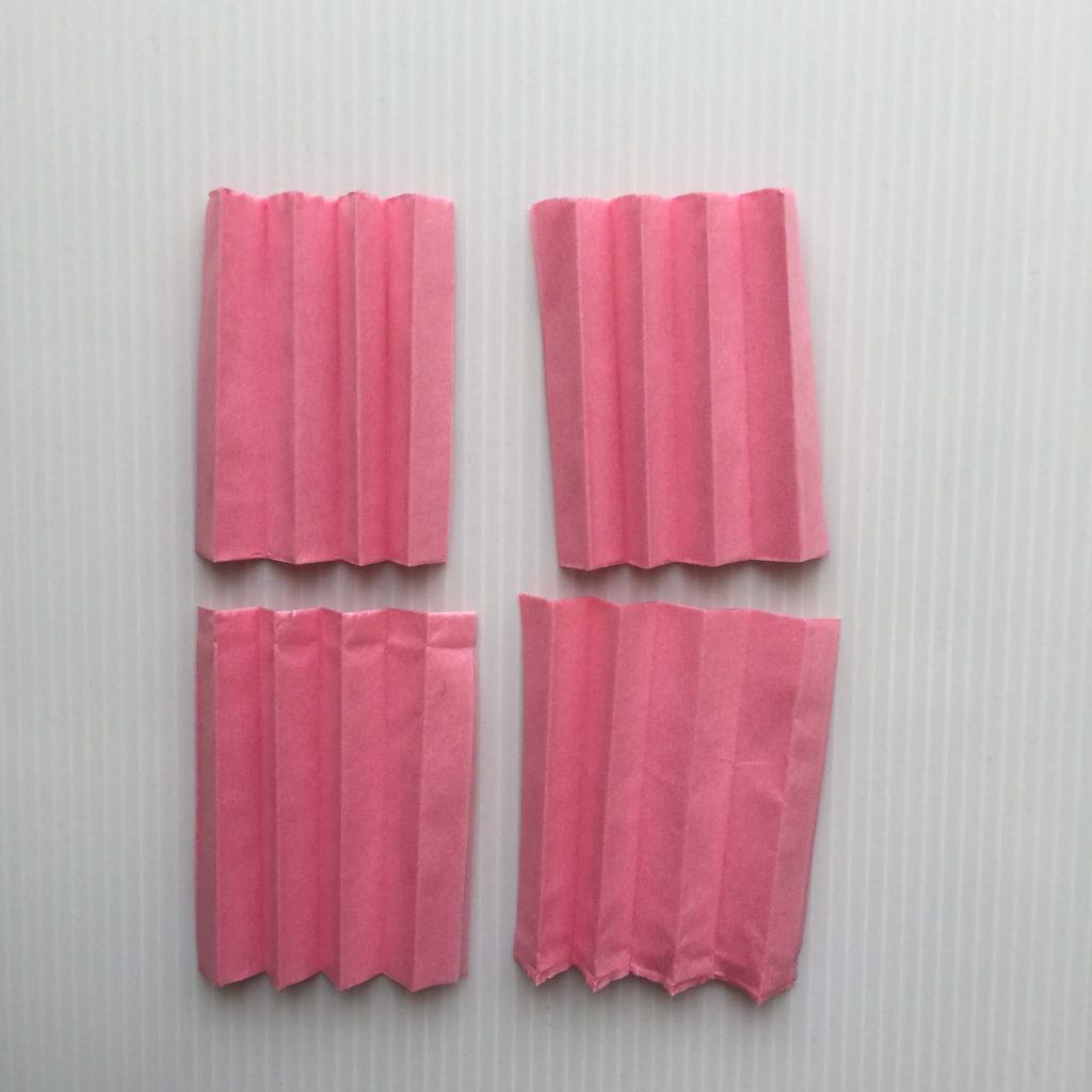 カーネーションの作り方_お花紙を切る